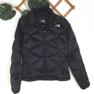 North Face | Black Goose Down Puffer Jacket Medium